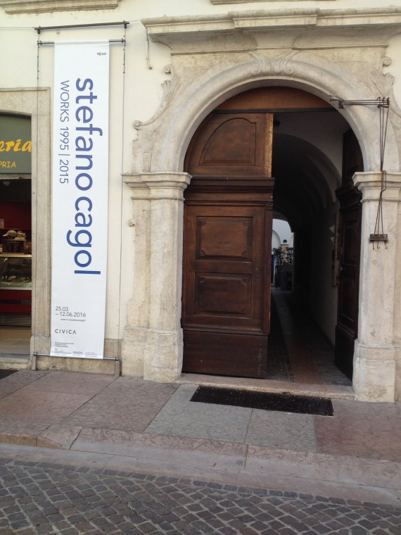 Galleria Civica di Trento is located on the historic core of the Council of Trent.