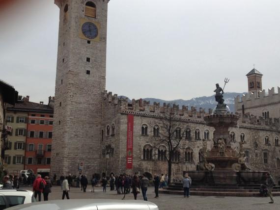 Neptune's Trident is the symbol of Trento.